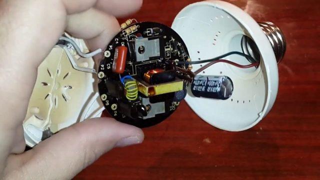 Ремонт энергосберегающей лампы своими руками: видео, схемы