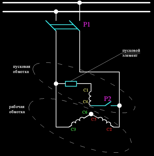 Как правильно подключить конденсатор cbb61?