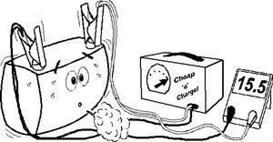 Можно ли заряжать гелевый аккумулятор delta gx зарядным устройством Вымпел 55?