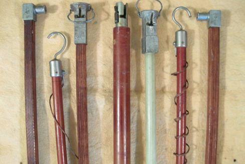 Изолирующая штанга: назначение, устройство, виды, испытания