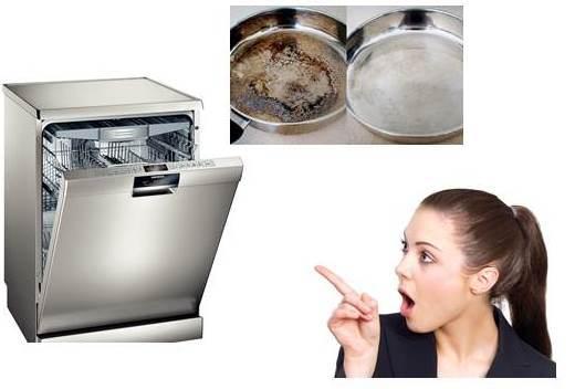 Почему посудомоечная машина не моет посуду сверху?
