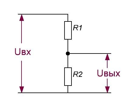 Делитель напряжения на резисторах: онлайн калькулятор расчета