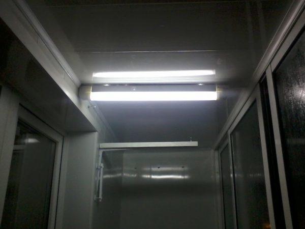 Освещение на балконе: фото идеи, требования, инструкция монтажа