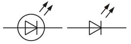 Какое графическое обозначение имеют светодиодные светильники на чертежах?