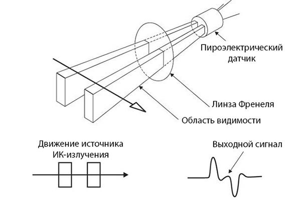 Уличный датчик движения для сигнализации: виды