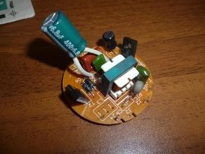 Что делать, если сгорел внешний блок питания на лампе для маникюра?