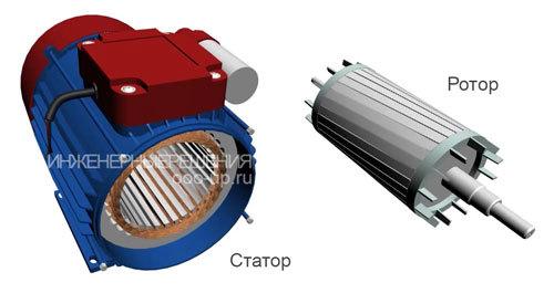 Вопрос по запуску маломощного однофазного двигателя