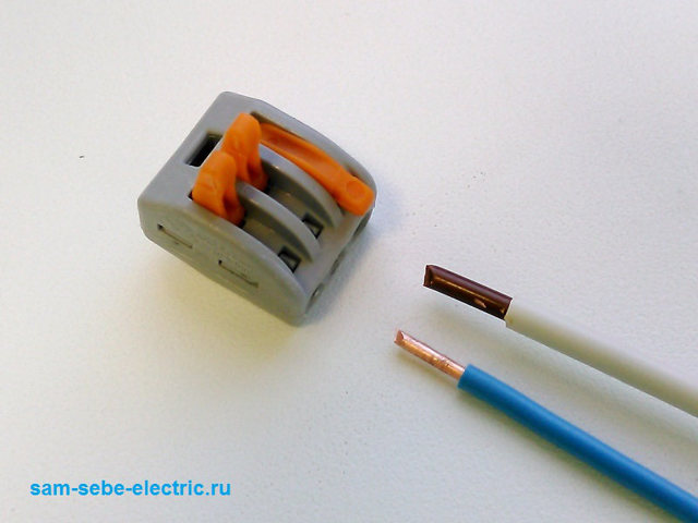 Как соединить медные провода сечением 6 и 10 мм.кв.?