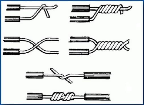 Как нарастить короткий алюминиевый провод в стене?