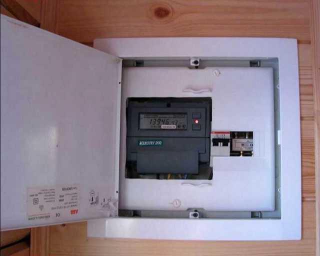 Однофазный счетчик электроэнергии: как подключить
