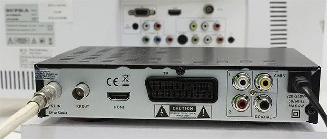 Как правильно подключить цифровую приставку к телевизору?