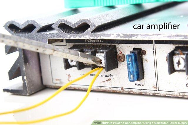 Можно ли подключить автомобильные колонки к блоку питания?