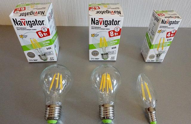 Сравнение ламп накаливания и светодиодных: таблицы параметров